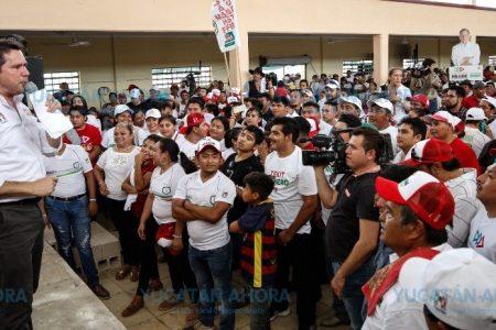 La elección es el gran momento para sacar adelante a Yucatán: Mauricio Sahuí