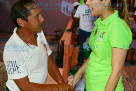 La gente votará para que Mérida tenga un cambio real: Mary Tony Gasque