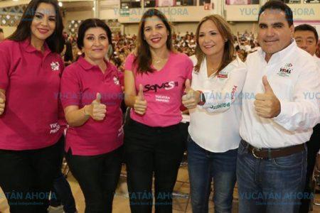 Las mujeres somos fuerza en estas elecciones: Mary Tony Gasque