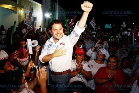 Mauricio Sahuí asegura que su proyecto será el ganador de la elección