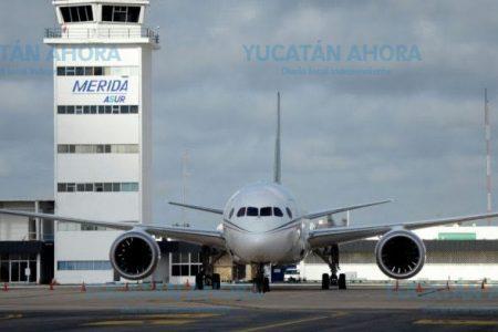 El Aeropuerto Internacional de Mérida, sin afectaciones por ceniza volcánica