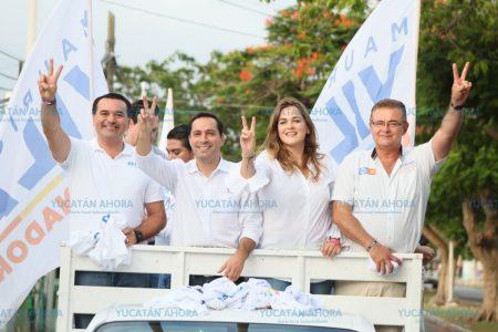 En 366 automóviles salen a apoyar a Cecilia Patrón