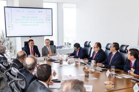 Paso firme para garantizar abasto continuo y suficiente de gas natural en Yucatán