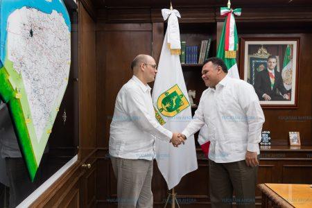 Se despide de Yucatán cónsul de Estados Unidos