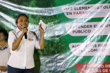 Promete Carmen Ordaz un gobierno de calidad a los progreseños