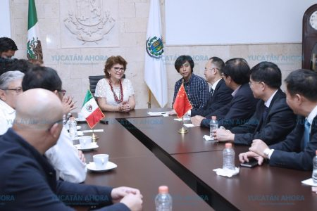 Delegación china explora oportunidades de inversiones en Mérida