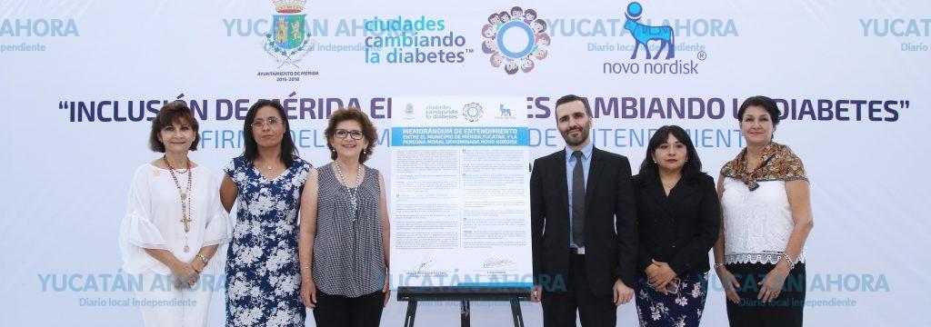 Mérida ya está entre las ciudades del mundo que combatirán la diabetes