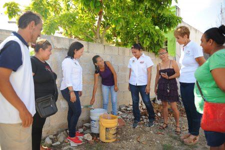 Progreso dejará de padecer constate desabasto de agua potable: Carmen Ordaz