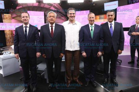 Casi 11 millones de personas vieron el debate en Yucatán