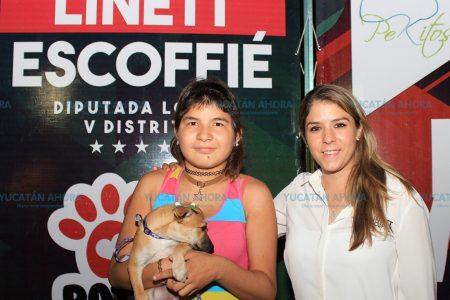La protección de los animales me preocupa y ocupa: Linett Escoffié