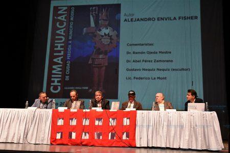 Presentan libro 'Chimalhuacán: de ciudad perdida a municipio modelo'