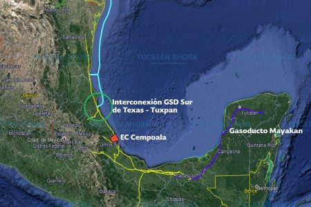 El gas natural que traerán a Yucatán viene de Texas y es el más barato del mundo
