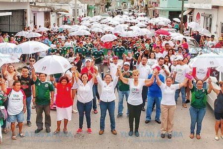 Compromiso de Carmen Ordaz: mejorar la calidad de vida de Progreso