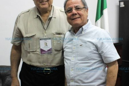 Ex embajador de la OEA visita Yucatán para observar las elecciones