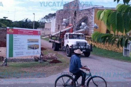 Pobladores de Kimbilá demuelen fallida construcción de un mercado