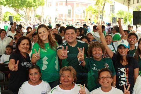 Yucatán siempre ha sido ejemplo de democracia: Cecilia Patrón
