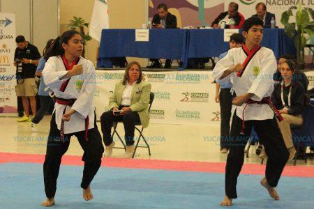 Yucatán gana dos medallas de oro y bronce en tae kwon do