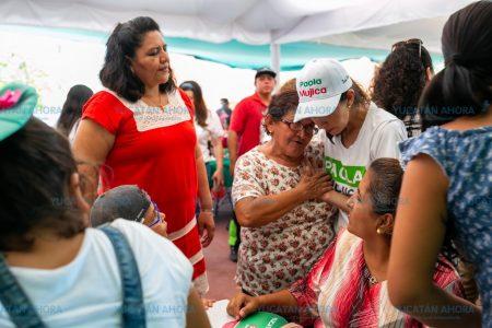 Paola Mujica ofrece fomentar la participación ciudadana