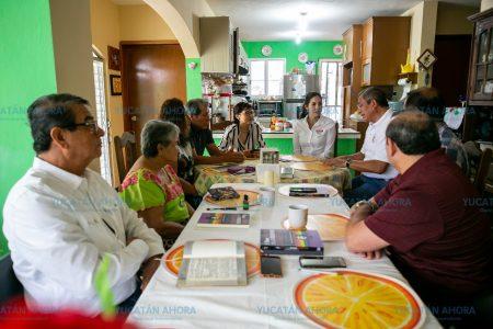 Paola Mujica dice que vecinos del distrito IV le han manifestado su respaldo