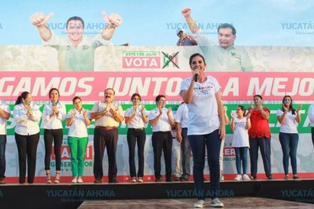 Reitera Paola Mujica su compromiso de ser la diputada de la familia