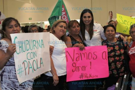 Hemos hecho una campaña cercana a la gente y limpia: Paola Mujica