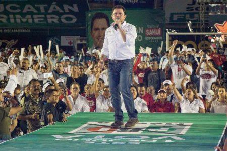 Más de 30 mil promotores demuestran su apoyo a los candidatos priistas