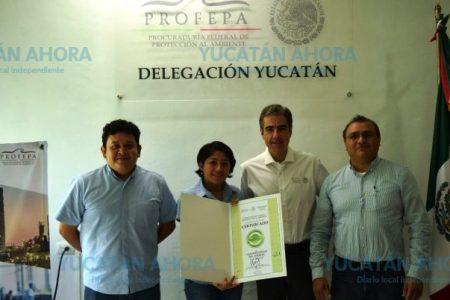 Tres empresas de Mérida logran certificado 'Industria Limpia' que entrega Profepa