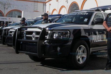 Resguardan los vehículos municipales que no sean de servicios públicos y seguridad