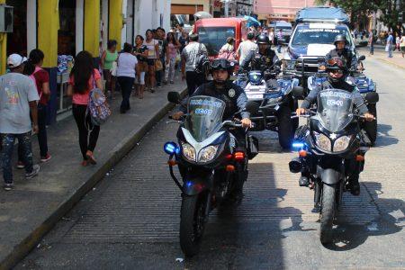 Amplían radio de acción de la Policía de Mérida durante las votaciones