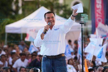 Dos mil 500 invitados a la toma de posesión de Renán Barrera