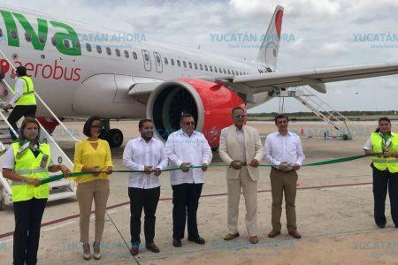 Viva Aerobus ya vuela con ruta Mérida-Tuxtla Gutiérrez