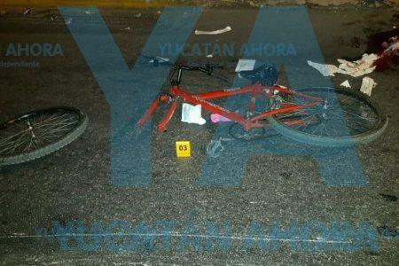 Camionero causa tragedia en el centro de Mérida: arrolla a un ciclista