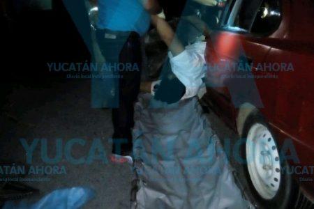 Invade el carril contrario y le cuesta la vida, en el oriente de Yucatán