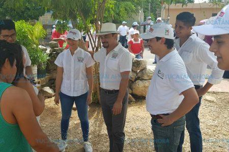 Vamos a dar a los jóvenes un mejor futuro y grandes oportunidades: Efraín Aguilar