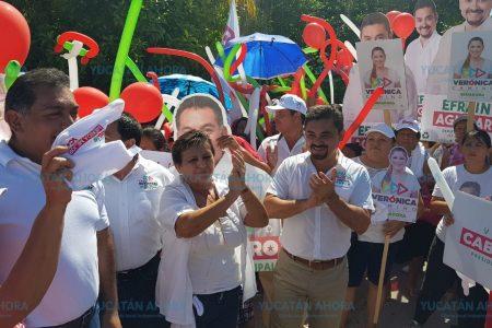 Augura Efraín Aguilar un mejor futuro a Caucel