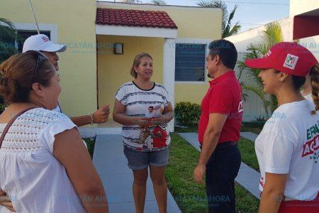 Tengo una gran visión al legislar, asegura Efraín Aguilar en Ciudad Caucel