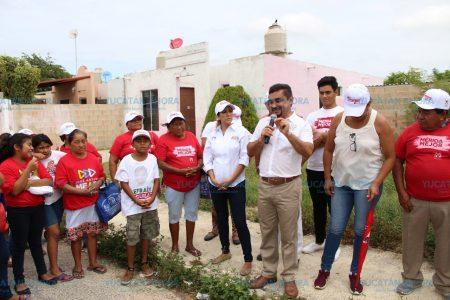 Efraín Aguilar ofrece trabajar de la mano por una Mérida mejor
