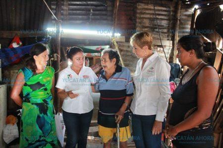 Ofrece Carmen Ordaz 3 mil acciones de vivienda a los progreseños