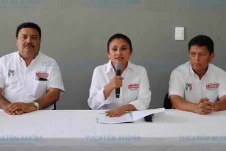 Presenta Carmen Ordaz todo un plan de trabajo para Progreso