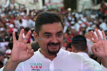Se terminaron las campañas, ahora es tiempo de reflexionar el voto: Efraín Aguilar