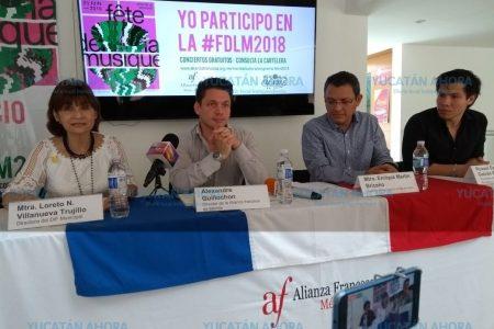 La 'Fete de la musique' llega a Mérida con un mensaje de inclusión