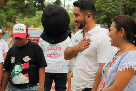 Luis Borjas ofrece leyes a favor de quien más necesita