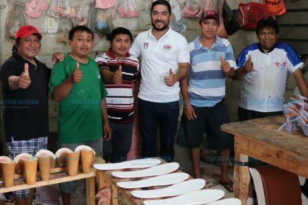 Luis Borjas ofrece legislar para combatir la pobreza y marginación
