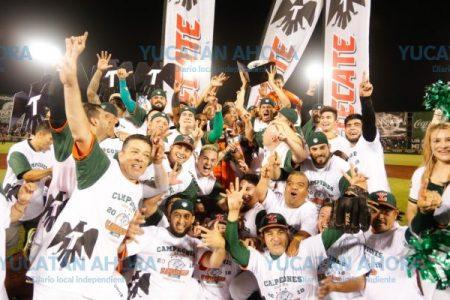 Leones de Yucatán, campeones de la Zona Sur