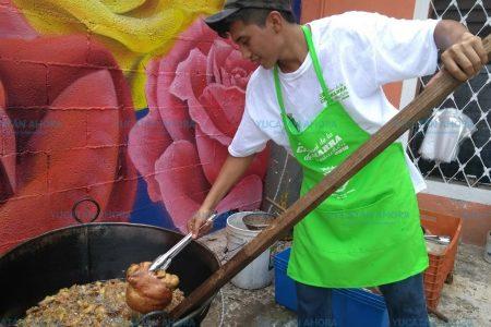 Se vuelve una tradición el Festival de la Chicharra en Xcalachén