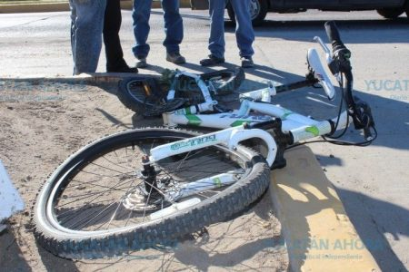 Le siguen proceso penal por atropellar a un ciclista en Chuburná