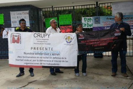 Trabajadores toman la UPN y el lunes serán recibidos por las autoridades