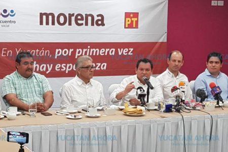Huacho Díaz denuncia que están maquilladas las cifras de campaña del PAN y PRI
