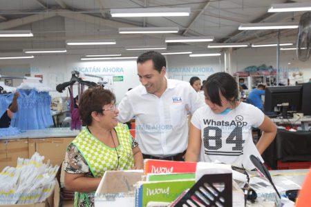 Impulsaré una economía más competitiva nacional e internacionalmente: Vila Dosal