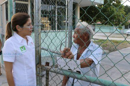 Mary Tony Gasque se compromete a regresar a su distrito